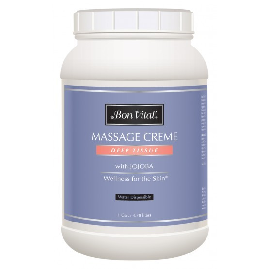 Bon Vital Deep Tissue Massage Creme 1 Gallon Jar