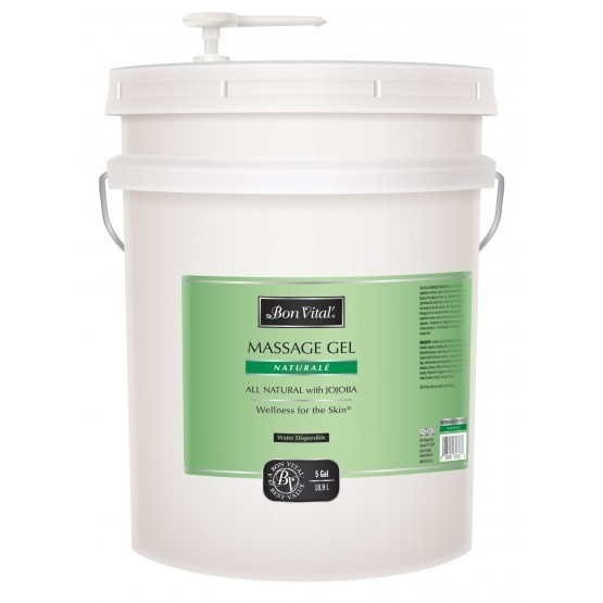 Bon Vital Natural̩ Massage Gel 5 Gallon Pail