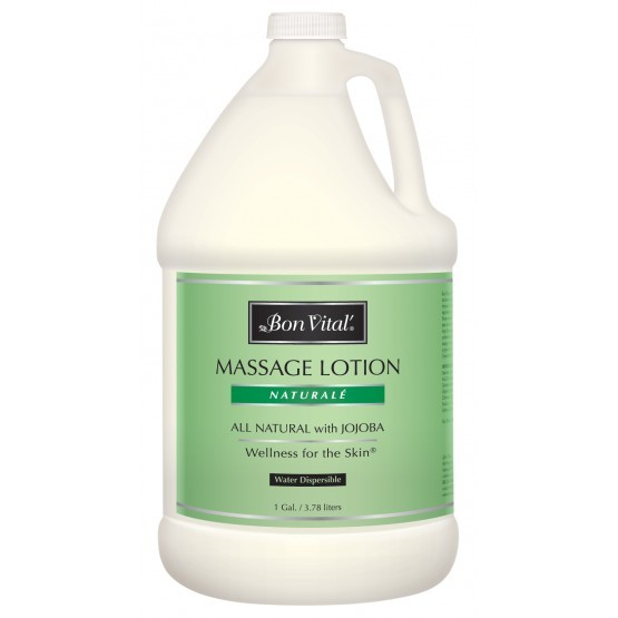 Bon Vital Natural̩ Massage Lotion 1 Gallon Bottle