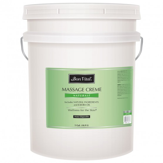 Bon Vital Naturale Massage Creme 5 Gallon Pail
