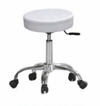 Chrome Beauty Stool Aesthetician stool
