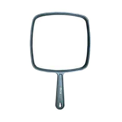 Diane Medium TV Mirror Black