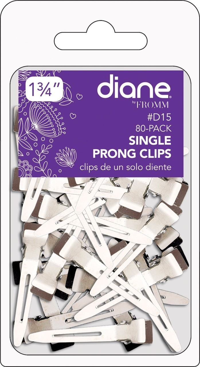 Diane Single Prong Clip 80pk