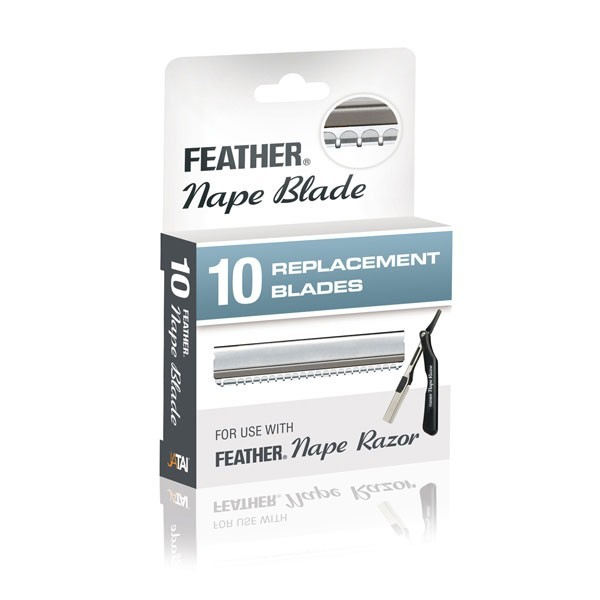 Jatai Feather Nape Blades 10 Pack