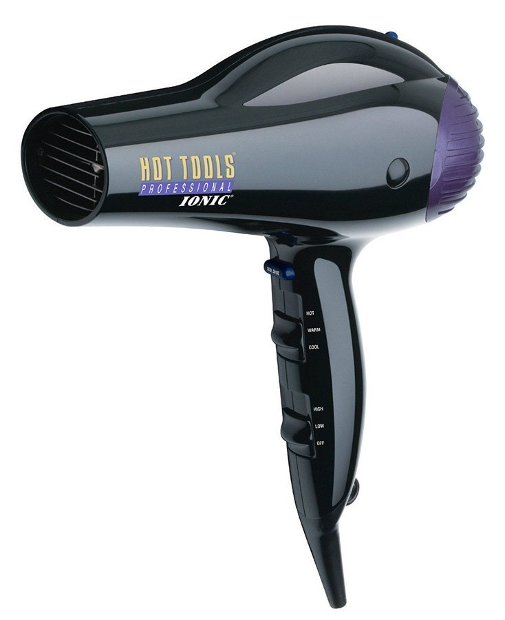 Hot Tools Ionic Anti Static 1875 Watt Professional Dryer With High Air Flow