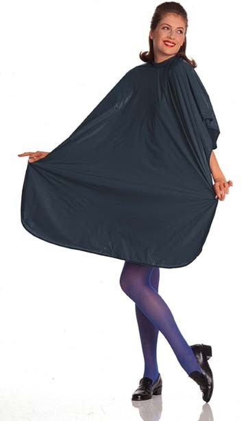 Cricket Plain Jane Vinyl Cape In Black