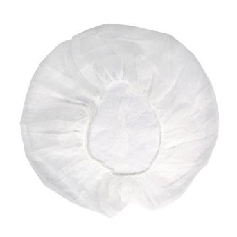 SkinAct Disposable Bouffant Cap White Or Blue