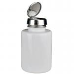 Menda One-Touch, SS, Round 6 Oz White Glass