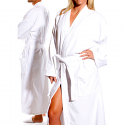 SkinAct Robe Velour Kimono Spa