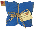 Hot Cherry 3B Triple Square Blue Denim Therapeutic Pillow