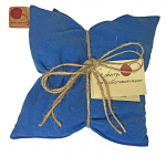 Hot Cherry 2B Double Square Blue Denim Therapeutic Pillow