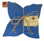 Hot Cherry 2B Double Square Blue Denim Therapeutic Pillow