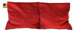 Hot Cherry 2M Double Square Red Maraschino Therapeutic Pillow