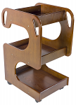 Elite Wooden Trolley Cart