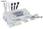 3 In 1 Facial Unit: Ultrasonic, Microcurrent And Skin Scrubber
