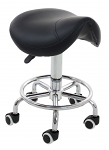 Hydraulic Saddle Stool Without Back