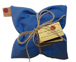 Hot Cherry 1B Square Blue Denim Therapeutic Pillow