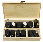45 Pieces Hot Stone Massage Kit With Box