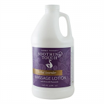 Soothing Touch Herbal Lavender Massage Lotion Half Gallon