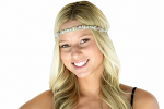 Pink Pewter Roxy Stretch Band