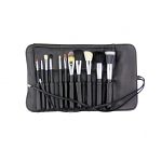 Crown 11 Piece Studio Pro Brush Set With Case