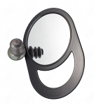 SkinAct Unbreakable Black Styling Mirror