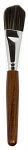 delux oval Brush