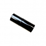 Crown Black Patent Leather Brush Tube