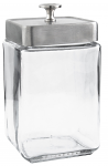 Large Glass Display Canister 1.5 Qt