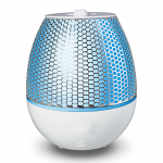 Maya Ultrasonic Aromatherapy Diffuser With LED Changing Lights In White