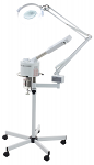 Facial Ozone Steamer And 5 Diopter Magnifying Lamp