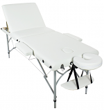 Porto Portable Massage Table Aluminum With (Reclining Back)