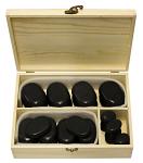 36 Piece Basalt Lava High Polish Hot Stone Massage Kit