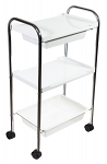 3 Level Plastic Trolley Cart