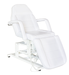 Maroon Electric Spa Treatment Table (Facial Chair, Massage Bed) with Wide Base
