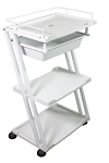 Plastic Salon Spa Cart Trolly