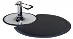 """Small Semi Circle 1/2"""" Anti Fatigue Beauty Salon Floor Mat"""