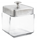 Small Glass Display Canister 1.0 Qt
