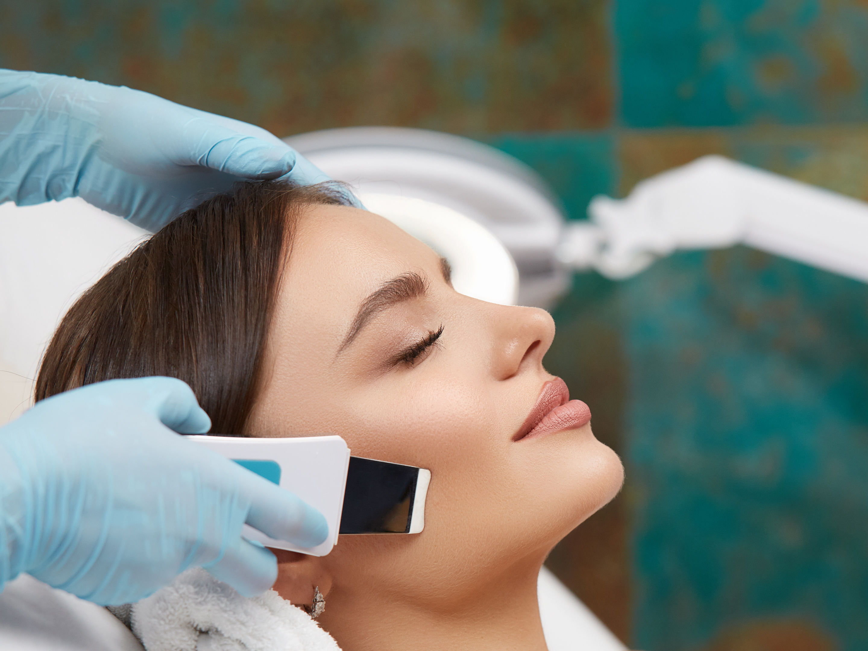 spa facial equipment, facial bed, spa bed, massage bed available electric and hydraulic